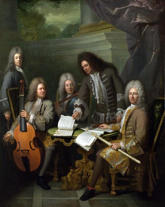 Часть 1 Национальная галерея - Андре Буи - Ла Барре с группой музыкантов