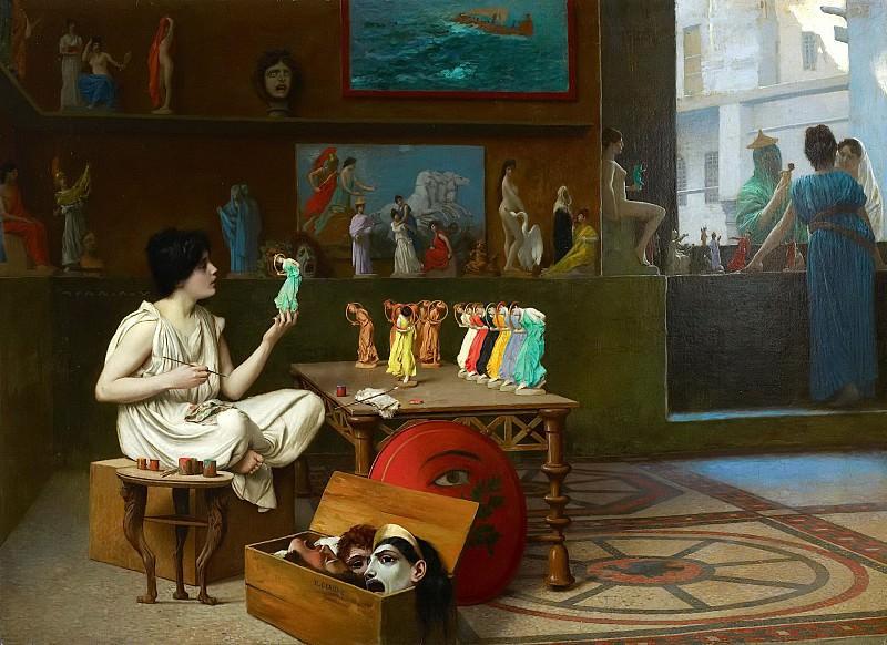 Жан-Леон Жером: Живопись, вдыхающая жизнь в скульптуру