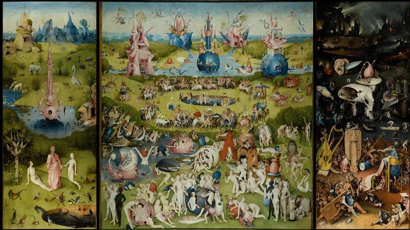 Шедевры музея Прадо - Bosch, Hieronymus - The Garden of Earthly Delights