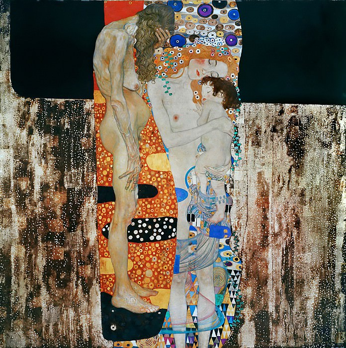 Густав Климт - The Three Ages of Woman, Klimt - 1600x1200 - ID 8176
