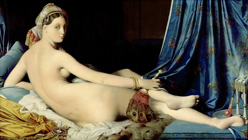 Jean Auguste Dominic Ingres - Grand Odalisque