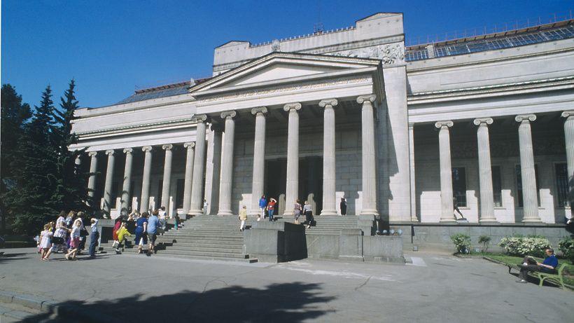 Реконструкцию главного здания Пушкинского музея перенесли на 2023 год