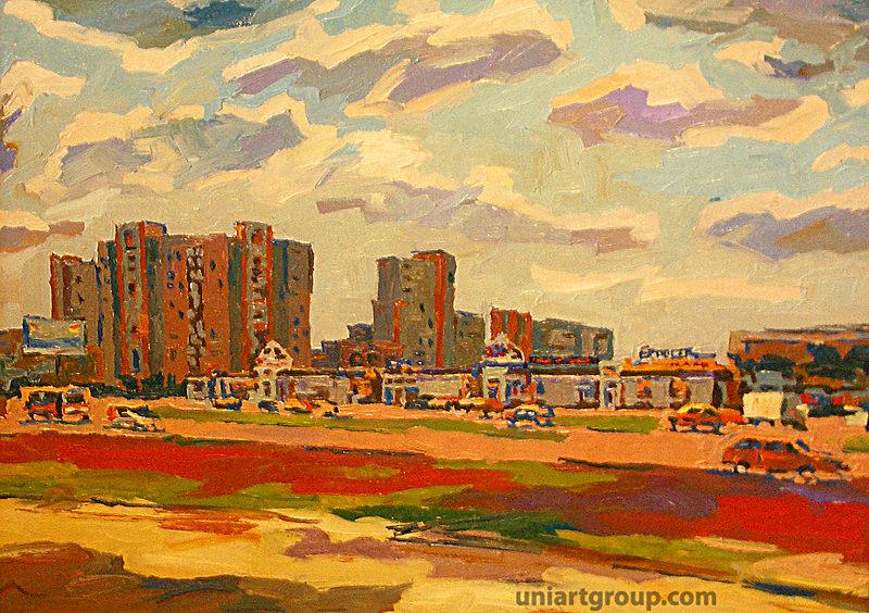 Городской пейзаж в живописи